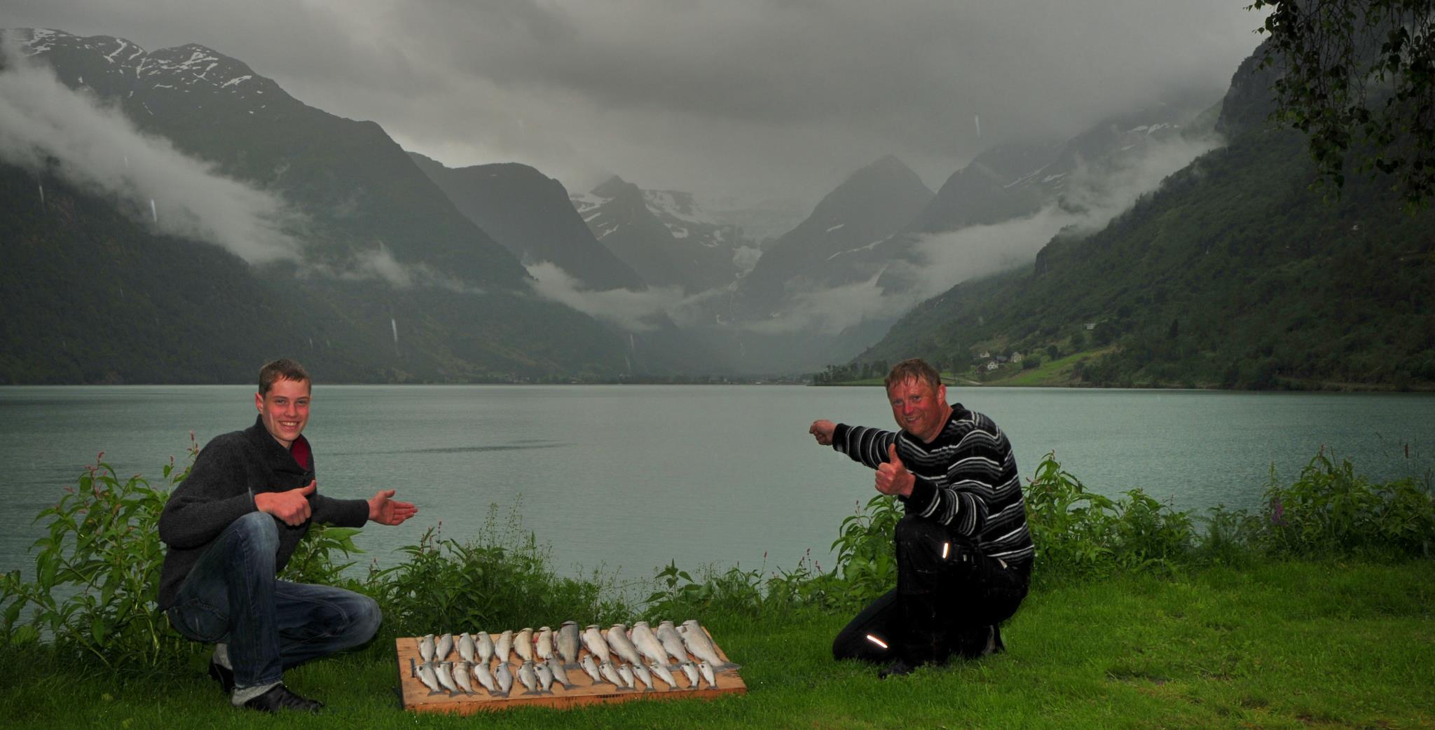 Fiskelykke, 21.07.2012